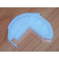 Zawias drzwi zmywarki plastikowy (oś) Whirlpool